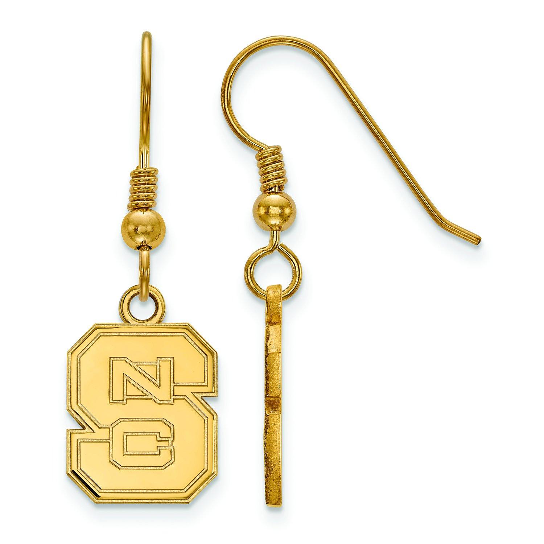NC状態Small ( 1 / 2インチ)ダングルイヤリングワイヤ(ゴールドメッキ)   B01IYEUYP4