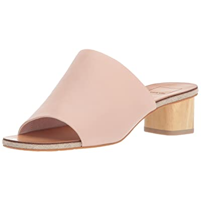 Dolce Vita Women's Kaira Slide Sandal, Blush Leather, 9.5 M US: Shoes