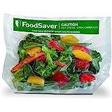 FoodSaver 16 Sacchetti Termosigillabili per Sigillatrice per Sottovuoto Adatti alla Cottura a Microonde, 21 x 24 cm