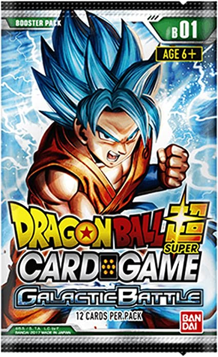 Asmodee BCLDBBO7092 Dragon Ball Super CG: Booster Pack B01 Batalla ...