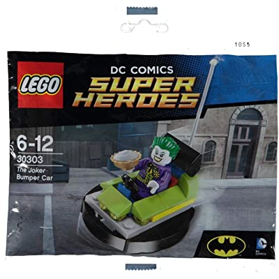 LEGO, DC Super Heroes, The Joker Bumper Car (30303) Bagged: Toys & Games