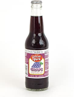 product image for Foxon Park, Grape Soda, 12 oz. Bottle (Case of 12)
