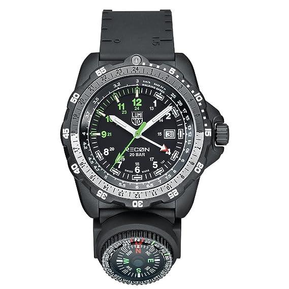 Luminox Reloj Analógico para Hombre de Cuarzo con Correa en PU XL.8831.KM.L: Amazon.es: Relojes