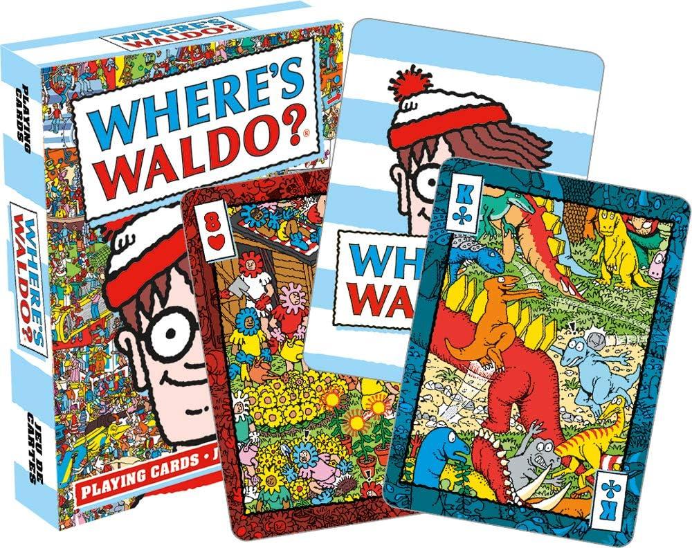 NM ¿Dónde está Wally? (Waldo) Juego de 52 Cartas de Juego: Amazon ...