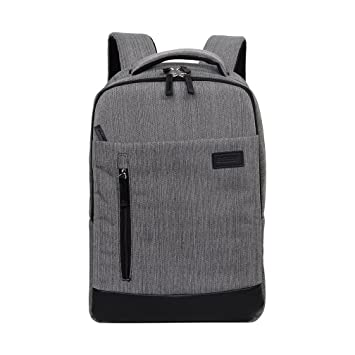 KingsLong mochila para portátil de hasta 14 pulgadas Mochila para negocios/escuela/senderismo/viajar gris gris: Amazon.es: Electrónica