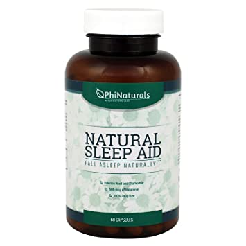 Sleep Aid – Sleeping Pills with Valerian Root Chamomile – Insomnia Relief Non-Habit Forming