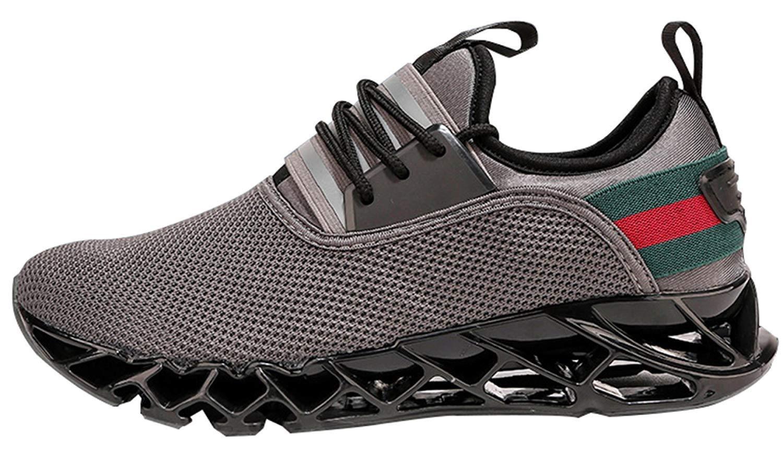 Beiläufige Gehende Turnschuhe Der Männer Beleg Auf Blatt-im Freiensport Beschuht Laufende Schuhe (Farbe   3, Größe   40EU)
