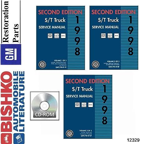 Amazon 1998 chevrolet gmc s 10 truck shop service repair 1998 chevrolet gmc s 10 truck shop service repair manual cd engine sciox Images