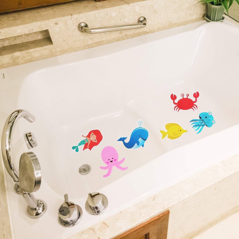 12PCS Sea Conch Kids Safety Strips Strong Adhesive Sticker for Bathtub Pools Bathrooms nbhbj Non-Slip Bathtub Shower Stickers