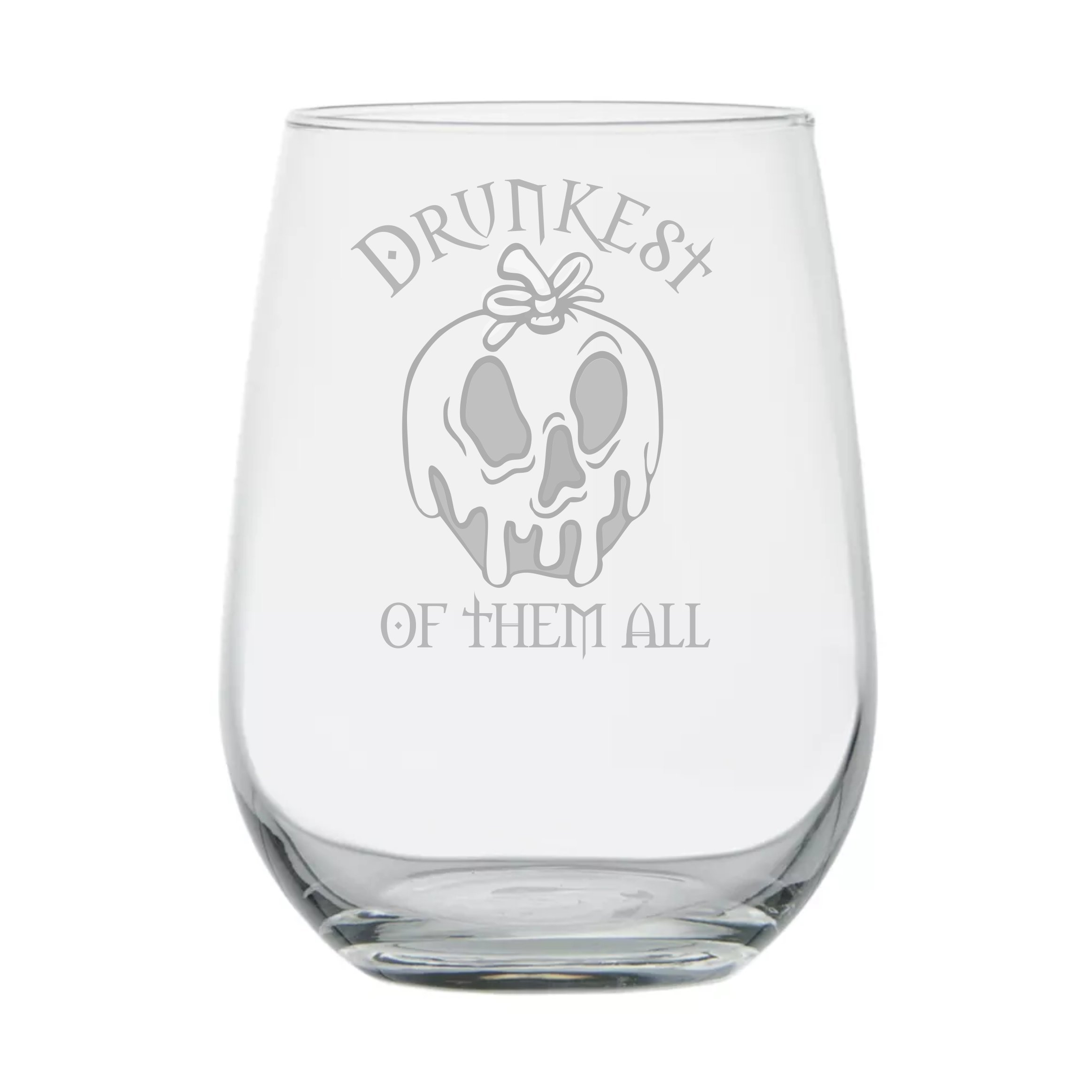 Snow White ★ Drunkest of them All ★ Poison Apple ★ Fairy Tales ★ Funny Birthday Gift ★ Movie Themed ★ Couples Gifts ★ Disney Princess Wine Glass ★ Mirror Mirror ★ Evil Witch ★ Goth Girl
