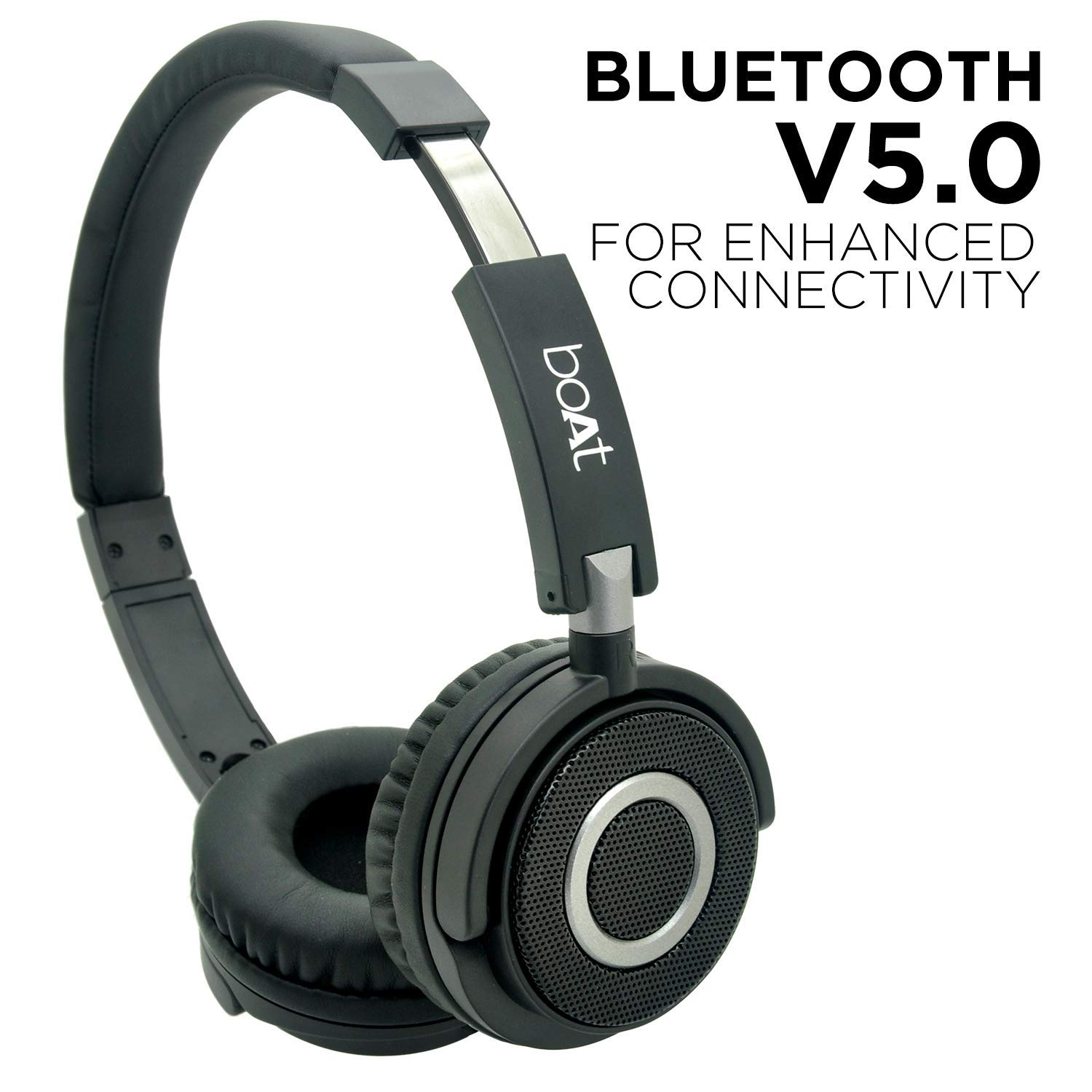 Boat 900 Wireless V2 On Ear Headphone With Bluetooth Amazon In Electronics