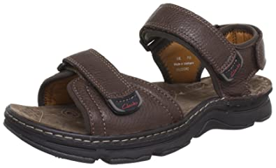 82a0ff89ba660 Clarks Atl Part, Men's Sandals, Braun (Dark Brown Lea), 8.5 UK ...