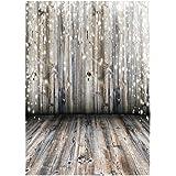 Zibuyu Wood Floor Photography Backdrop Cloth Baby Digital Photo Background Decor(B