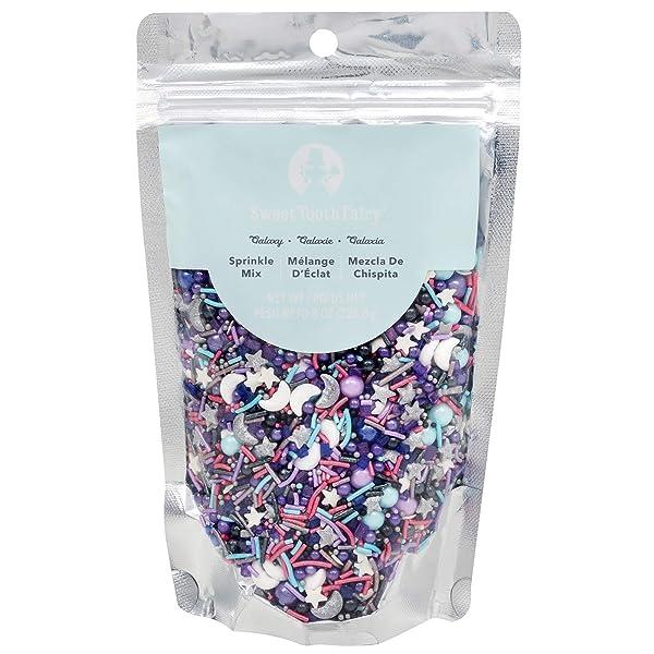 Sweet Tooth Fairy 350387 Galaxy Sprinkles, Multicolor (Color: Multicolor, Tamaño: Original version)