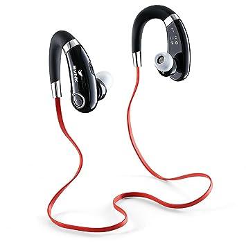 BVNK Auriculares estéreo Bluetooth auriculares inalámbricos de deporte, el ruido de cancelación de auriculares con