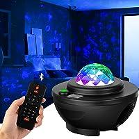 LED Sterlicht Projector,Roterende Projector Lamp,Ster Licht Projector Slaapkamer Nachtlampje,Kleur Veranderende…
