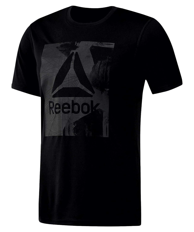 Reebok Wor Tech Graphi Camiseta, Hombre