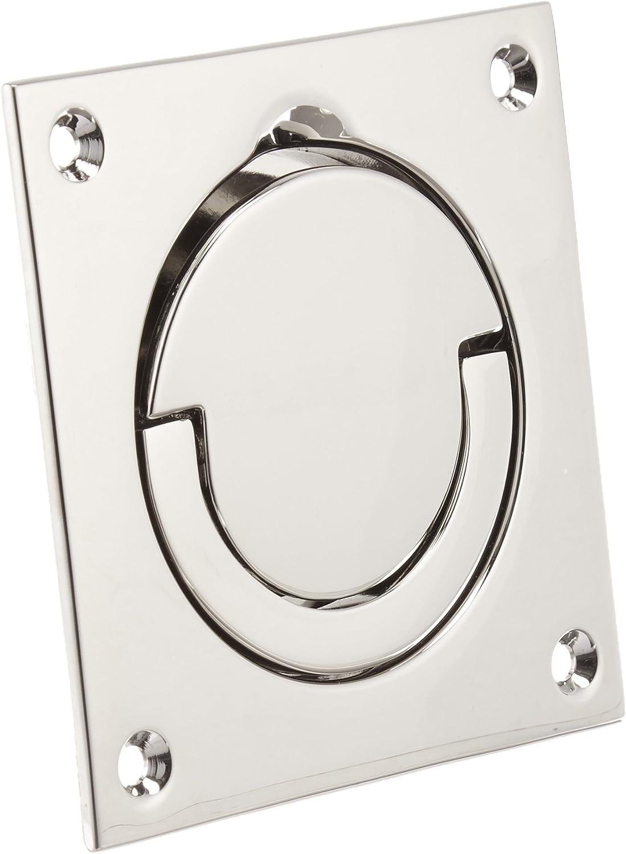Baldwin 0397190 Flush Ring Pull Home Improvement Black Top Notch Distributors Inc.