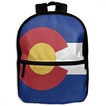 Amazon Com Chunlei Child School Bag Flag Of Colorado Cool Kids