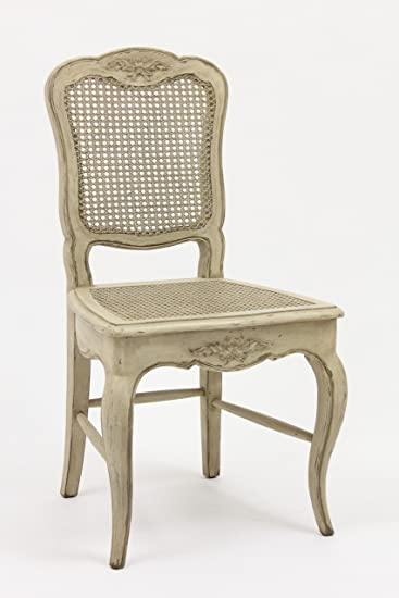 Amazoncom French Country Cane Chair Chairs - French country chairs
