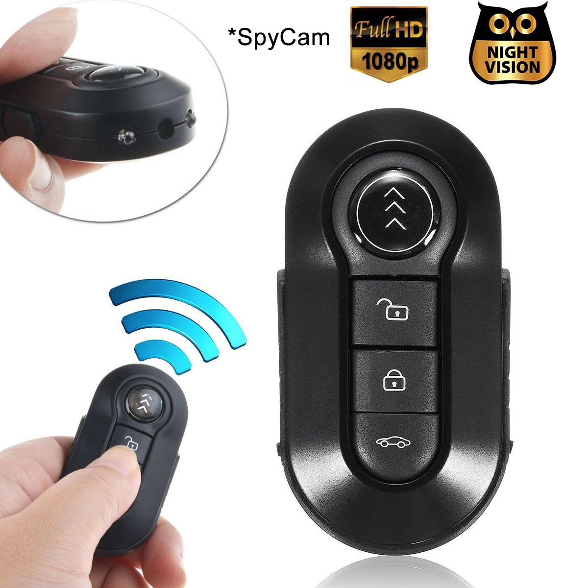Amazon.com : Mini Hidden Spy Camera, Bysameyee 1080P Hidden Cam with Night Vision, Nanny Camcorder Video Recorder : Camera & Photo