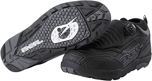 O'Neal | Cycling-Shoe | Mountain Bike MTB DH FR Downhill Freeride |  Waterproof, Breathable, Turn-Quick Fastener Loam WP SPD Shoe Unisex | Adult  |: Amazon.co.uk: Shoes & Bags