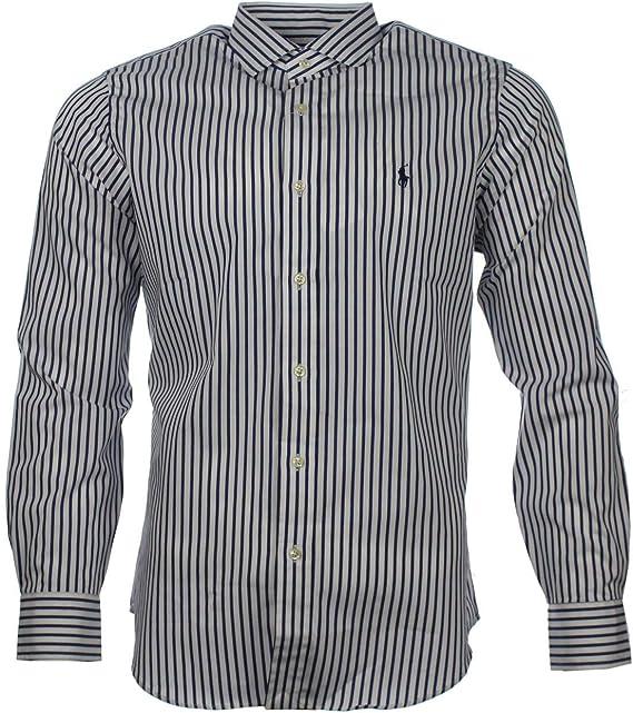Ralph Lauren - Camiseta Deportiva - con Botones - Manga Larga ...