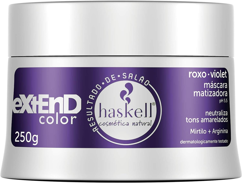Máscara matizadora Roxo/Violet 250gr LOW POO, Haskell