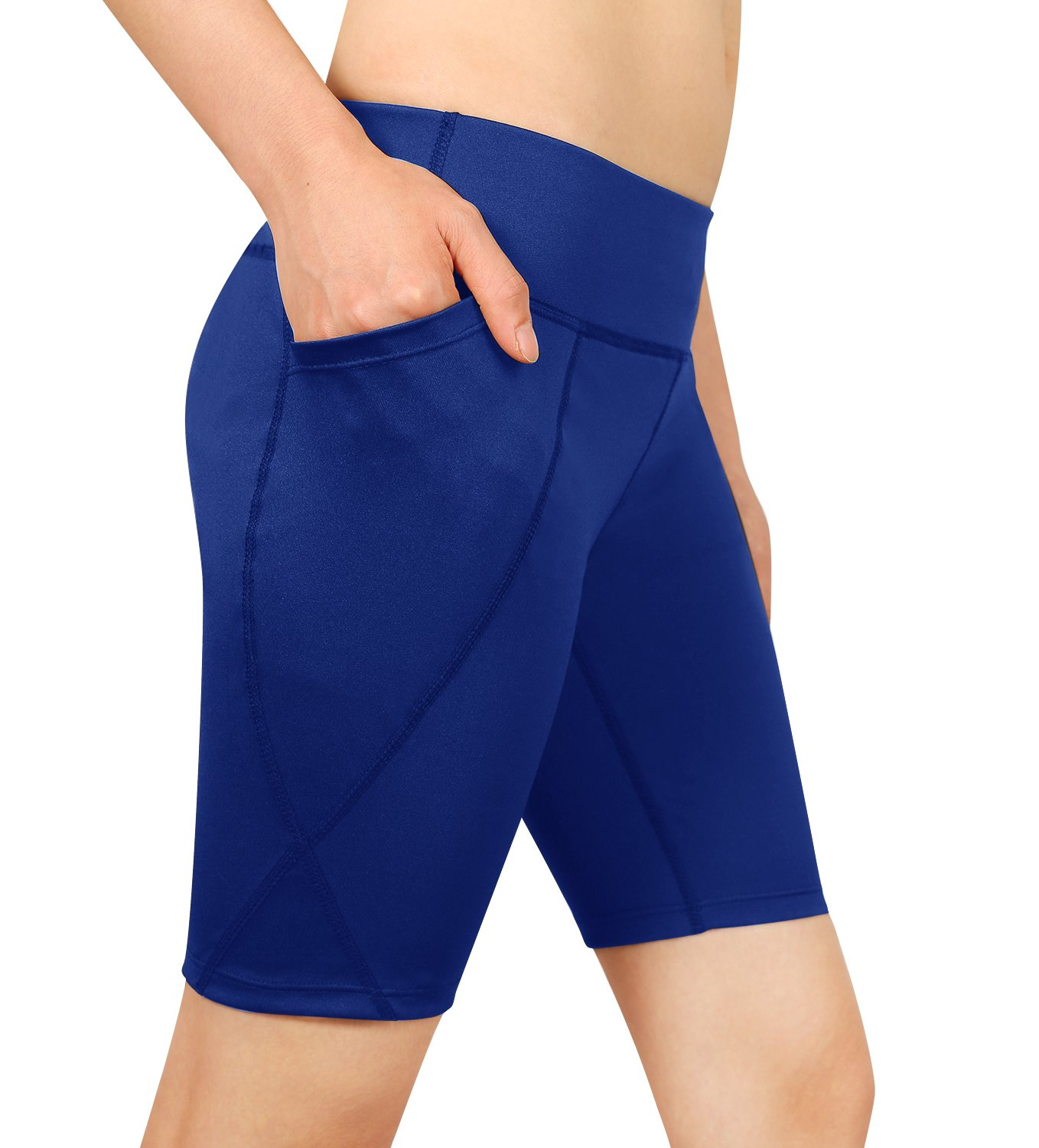 Cassiecy Damen Compression Sports Shorts Yoga Running Fitness Stretch Tights Kurze Hosen Ca11