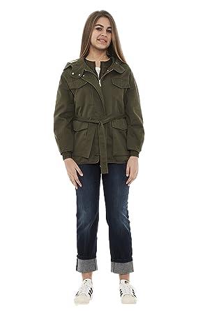 watch 3e62e 26da3 Pinko Women's Parka Long Sleeve Jacket: Amazon.co.uk: Clothing