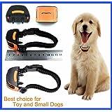 Classic Miniv - Vibration No Hurt Bark Dog Collar Extra Small Toy Dogs 4lbs to 14lbs Bark Training Solution 2018 Best Anti Bark Collar 100% Lifetime Product Warranty