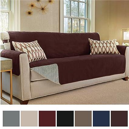 Charmant Gorilla Grip Original Slip Resistant Oversize Sofa Slipcover Protector,  Suede Like, Patent Pending