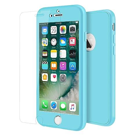 coques iphone 7 bleu