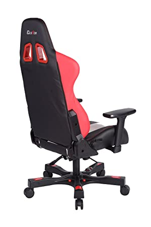 Amazon.com: Clutch Chairz Crank Series CKB11RWB Gaming Chair (Red/White/Black): Kitchen & Dining