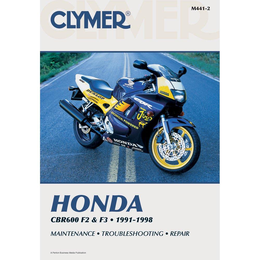 Amazon.com: 1991-1998 Honda CBR 600 F2 & F3 Clymer Repair Manual: Automotive