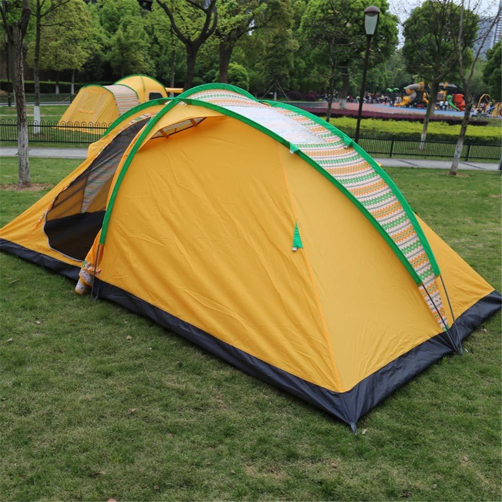 Zelt, 4-Season 8-Personen-Alpine Tent Camping Wandern Wasserdicht Beach Travel Tents (420  240  160cm)