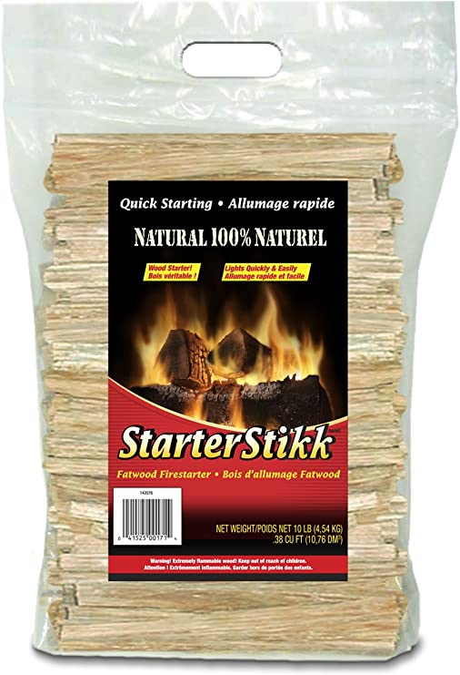 Fatwood aka Mayan sticks Nice firestarter and survival item 5 pieces.