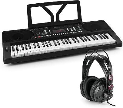 SCHUBERT Etude 300 • sintetizador • Teclado • Piano • casco Incluye • Función de grabación • pantalla LED • canciones internos • altavoces estéreo • ...