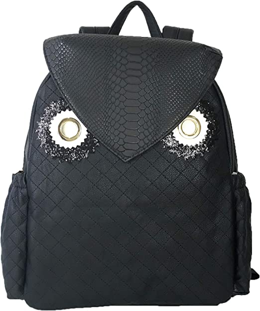 Betsey Johnson Womens Backpack with Pouch