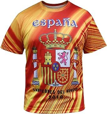 Espana Camisetas España los Hombres del Jersey: Amazon.es: Ropa y ...