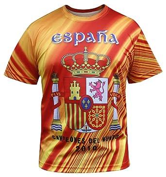 ed3ad17c81 Espana Men s Spain Jersey T-Shirts  Amazon.co.uk  Clothing