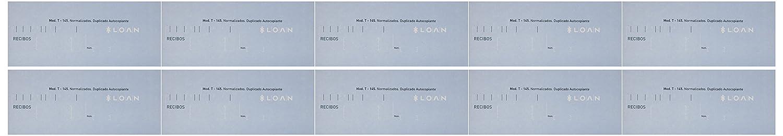 Loan T145 - Blocchetto di ricevute, 10 unità