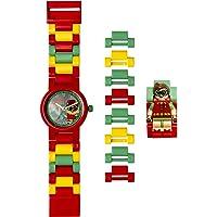 LEGO Batman Movie 8020868 Orologio da polso componibile per bambini con minifigure Robin