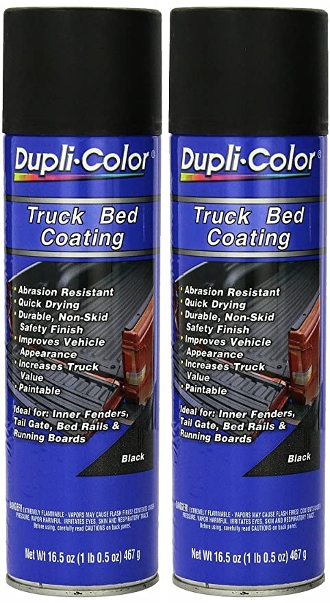 Amazon Com Dupli Color Truck Bed Coating Aerosol 16 5 Oz 2