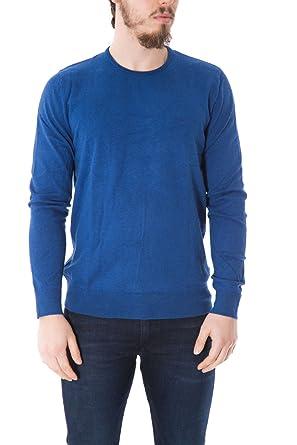 CALVIN KLEIN JEANS - Men s crew-neck pullover j30j304649 stag l light blue d1af6a8c41