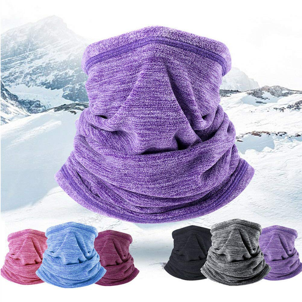 THE BEST DAY Outdoor Polar Fleece Neck Head Bib Winter Sports Hat Riding Warm Hood Multifunctional Windproof Mas