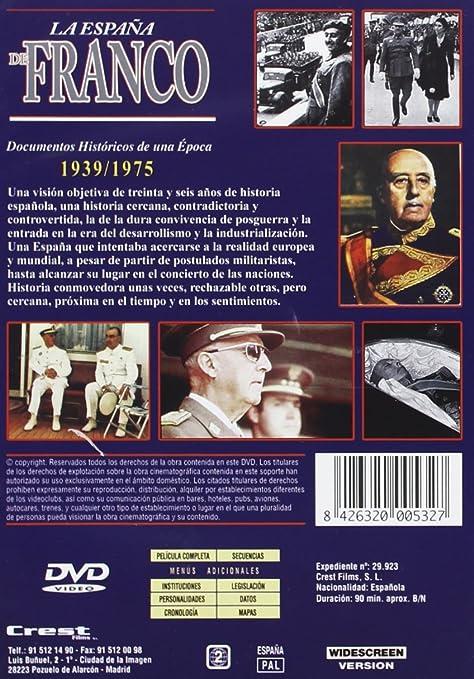 La España de Franco [DVD]: Amazon.es: Cine y Series TV