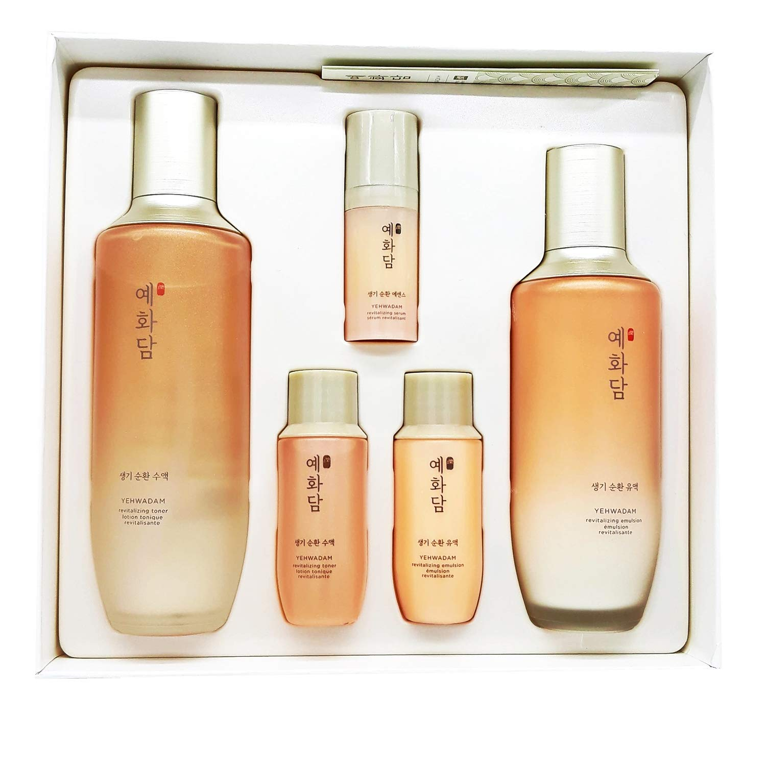 [THEFACESHOP] Yehwadam Revitalizing Anti Aging Skincare Set, Long Lasting Hydration and Nourishment from Korean Ginseng