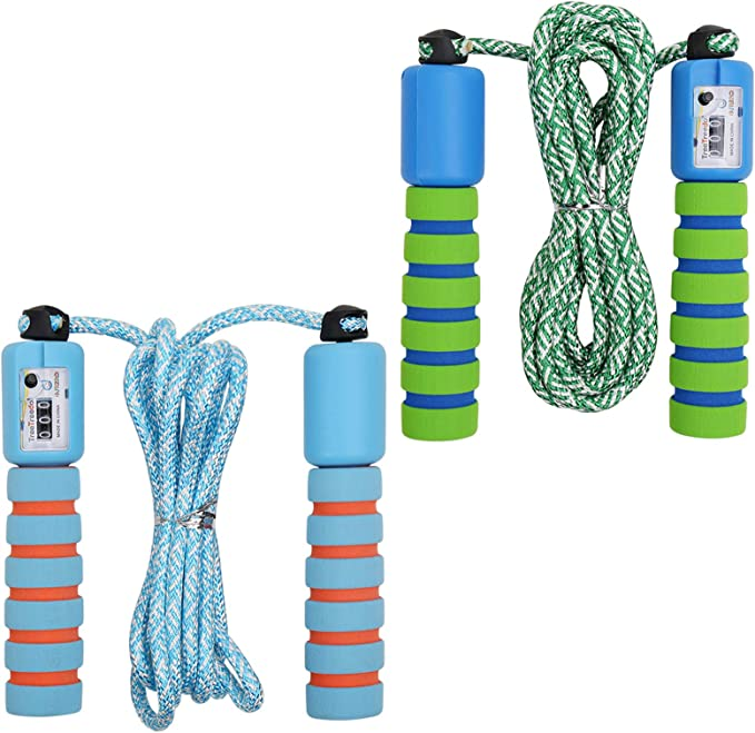 Schools or Playground 7ft-10ft Skipping Ropes Kids Economy Beaded Jump Rope