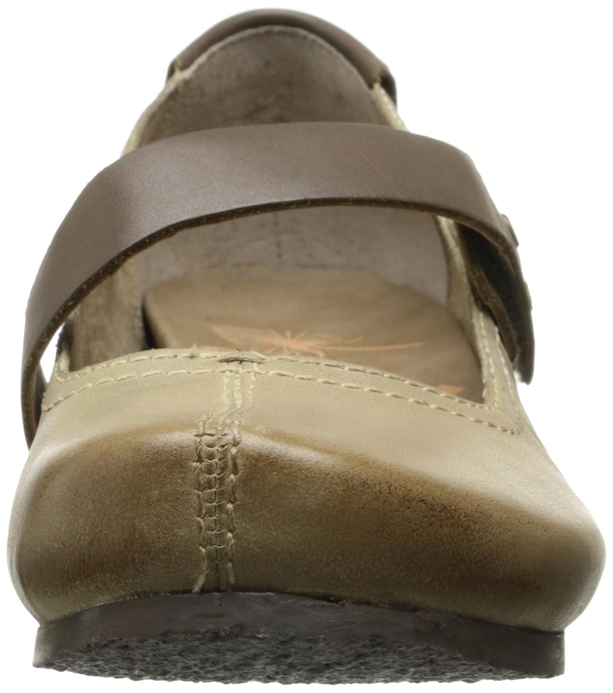 OTBT Women's Salem Mary Jane Flat B005B0NZFG 6.5 B(M) US|Stone Grey